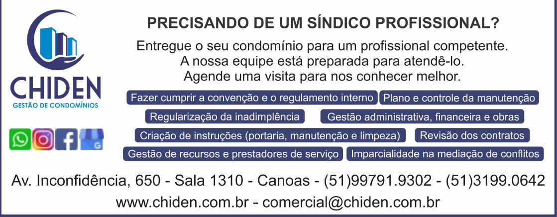 CHIDEN GESTAO CONDOMINIOS